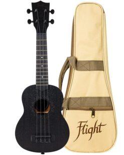 Flight NUS310BB Soprano Ukulele Blackbird