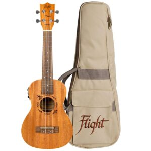 Flight DUC523CEQ Concert Electro Acoustic Ukulele
