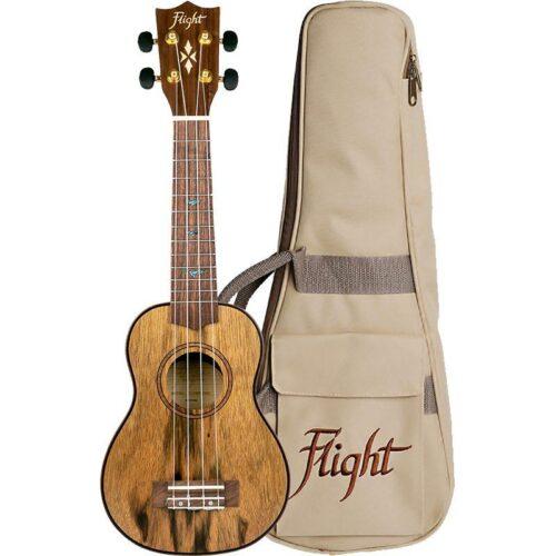 Flight DUS430 Dao Soprano Ukulele With Bag