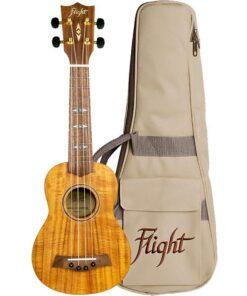 Flight DUS440 Soprano Acacia Ukulele