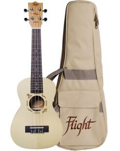 Flight DUC325 Concert Ukulele With Bag