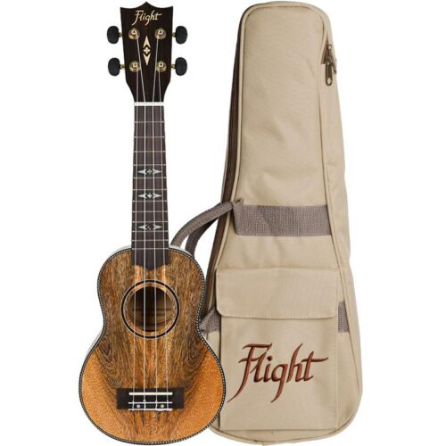 Flight DUS450 Soprano Ukulele Mango
