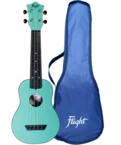 Flight TUS35 ABS Travel Ukulele Light Blue
