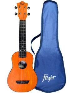 Flight TUS35 ABS Travel Ukulele Orange