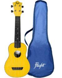Flight TUS35 ABS Travel Ukulele Yellow