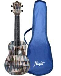 Flight TUS40 ABS Travel Soprano Ukulele Arcana