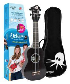 Octopus metallic series soprano ukulele