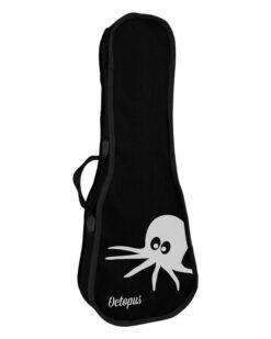 Octopus natural series soprano ukulele Yellow natural