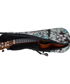 Octopus soprano ukulele bag ~ Hibiscus surf