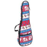 Octopus soprano ukulele bag ~ Indian textile