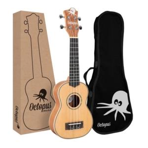 Octopus Mahogany soprano ukulele