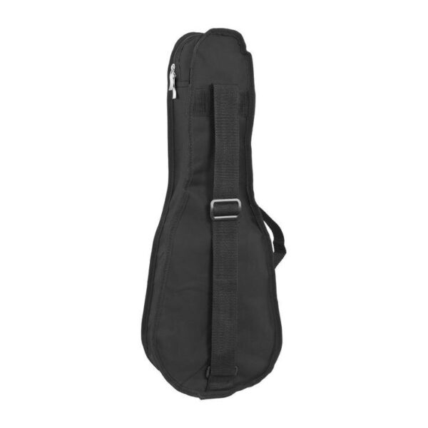 Octopus soprano ukulele bag ~ Black with back look