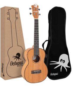 Octopus Mahogany series tenor ukulele with box