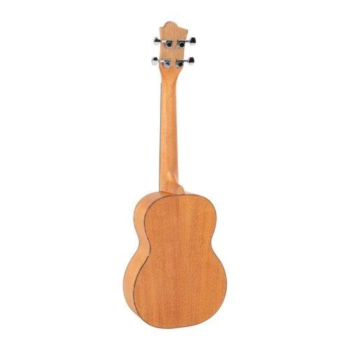 Octopus Mahogany series tenor ukulele with back image