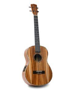 Isuzi EAK-BEQ Electro Acoustic Baritone Ukulele