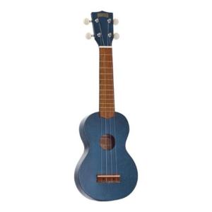 Mahalo Kahiko soprano ukulele Blue