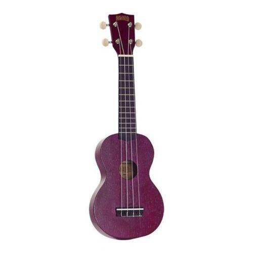 Mahalo Kahiko Plus soprano ukulele Purple