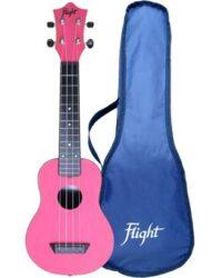 Flight TUS35 ABS Travel Ukulele Pink