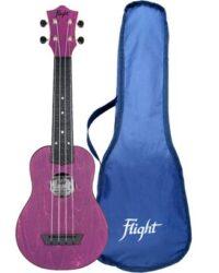 Flight TUS35 ABS Travel Ukulele Purple