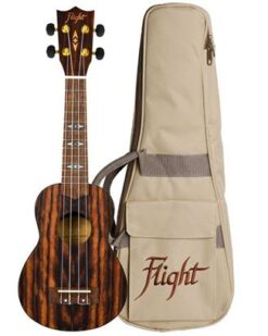 Flight DUS460 Soprano Ukulele Amara With Bag