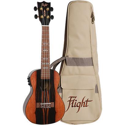 Flight Concert Electro Acoustic Ukulele