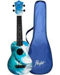 Flight TUS25 ABS Travel Ukulele Surf With Cover